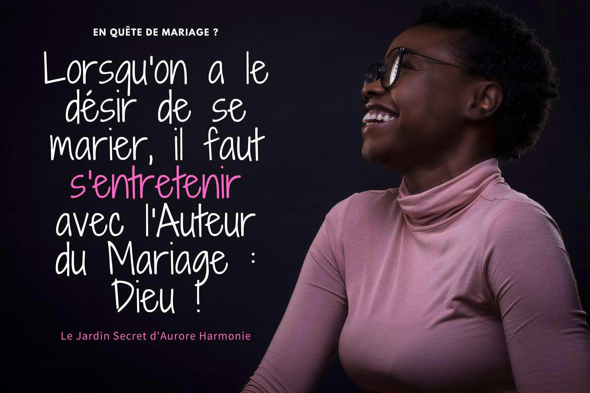 Désir de mariage 2